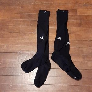 Adidas / puma mens knee high sports socks